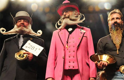 Freestyle Beard Champions 2009 - Hans-Peter Weis, Gerhard Knapp, Daved Traver