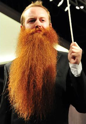 Full Natural Beard Champion 2009 - Jack Passion