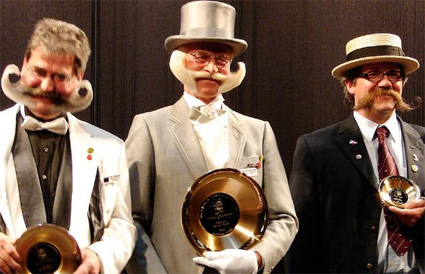 Imperial Partial Beard Champions 2009 - Udo Fritzsche, Karl-Heinz Hille, Mark Voermans