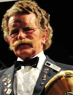 Natural Moustache Champion 2009 - Kees Lek