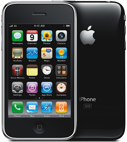 Apple iPhone 3GS Pictures: Front and Back