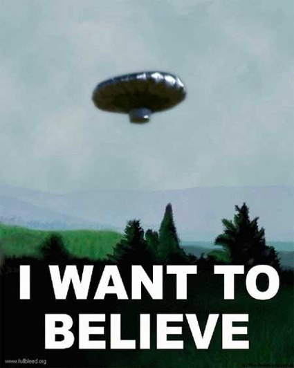 I want to believe (Balloon Boy Meme)