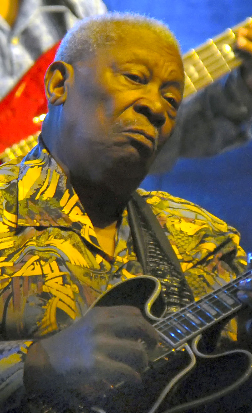 BB King in Yellow