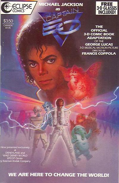 Captain EO Comic Book