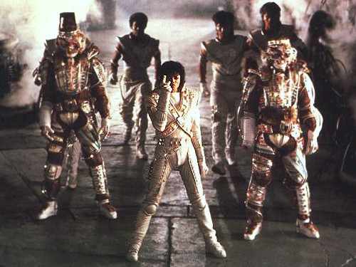 Michael Jackson as Captain EO