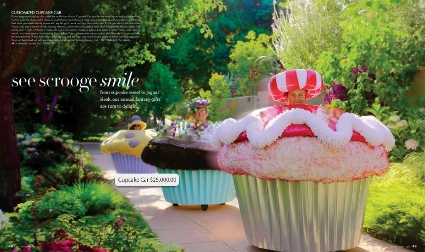 Neiman Marcus Christmas Book: Customized Cupcake Car ($25,000)
