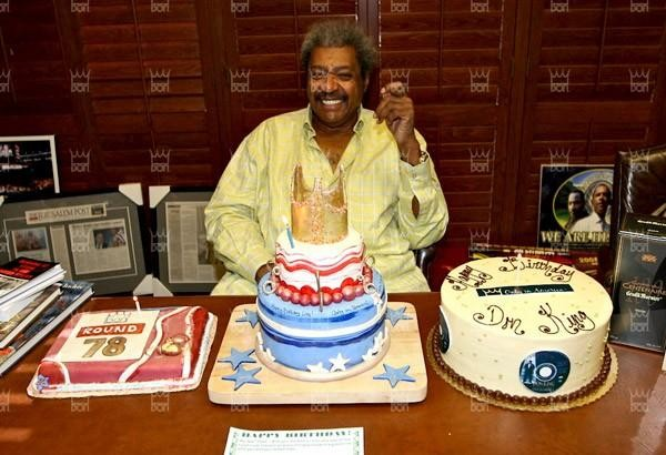 Don King in Yellow