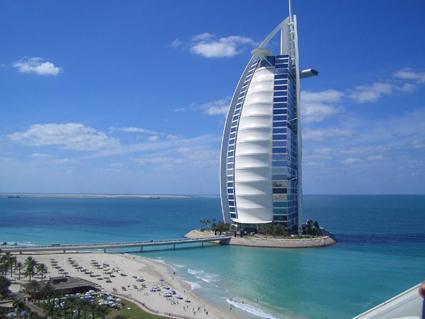 Dubai's Burj Al Arab Hotel