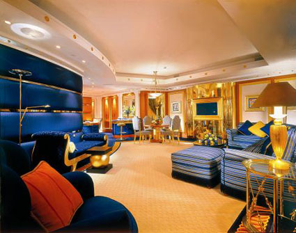 A Room in the Burj Al Arab Hotel