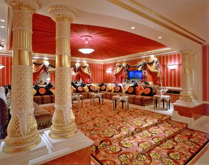 A Suite at the Burj Al Arab Hotel