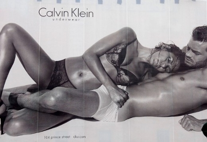 Controversy: Eva Mendes & Calvin Klein team up for this sexy billboard in SoHo, NYC