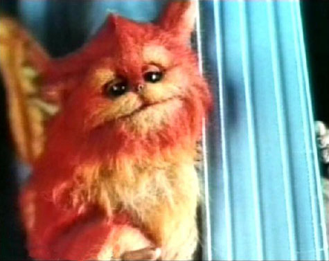 Fuzzball from the Captain EO movie