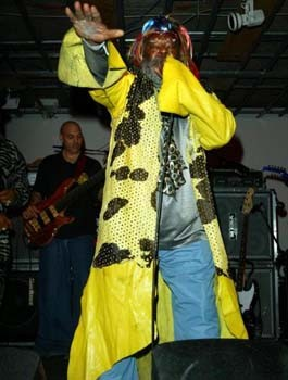 George Clinton - The King of Funk in Yellow
