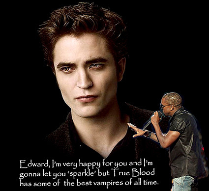 Kanye West interrupts Edward Cullen from Twilight
