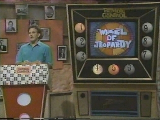 Ken Ober on MTV's Remote Control (Wheel of Jeopardy)
