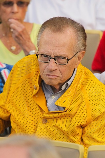 Larry King in Yellow