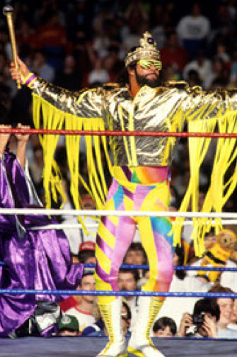 Randy Savage - The Macho King in Yellow