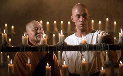 Master Kan & Shaolin Monk Kwai Chang Caine (played by David Carradine)