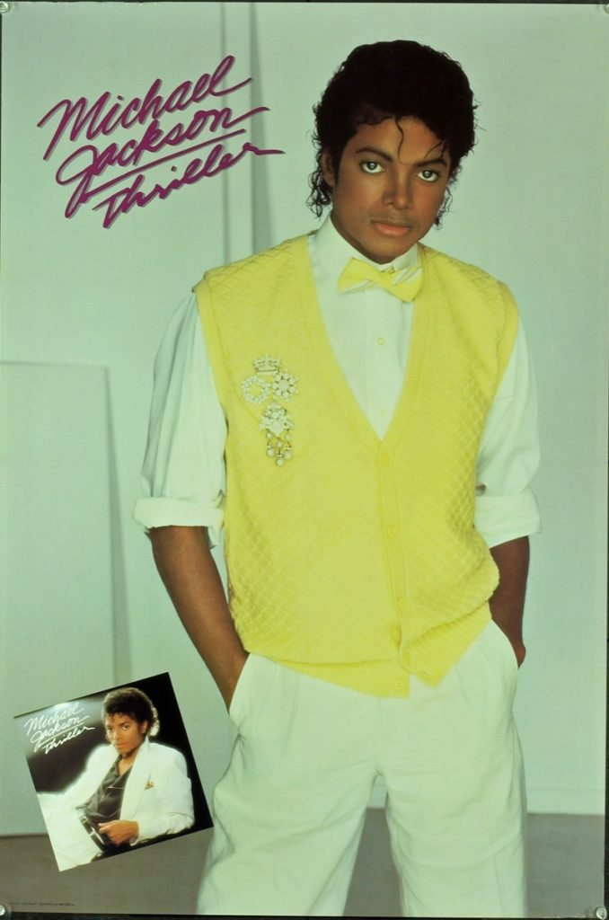 Michael Jackson - The King of Pop in Yellow
