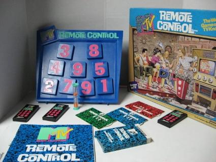 MTV Remote Control at Home Board Game