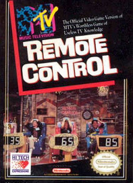 Nintendo Game: MTV's Remote Control