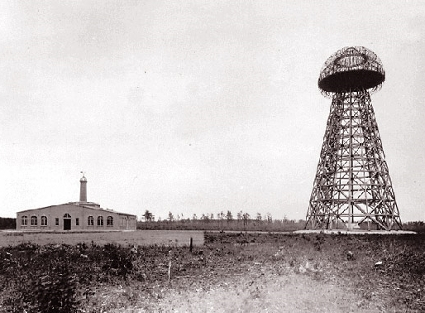 Nikola tesla's Wardenclyffe estate on Long Island