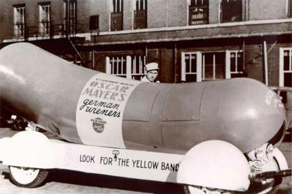 Oscar Mayer Wienermobile in 1936