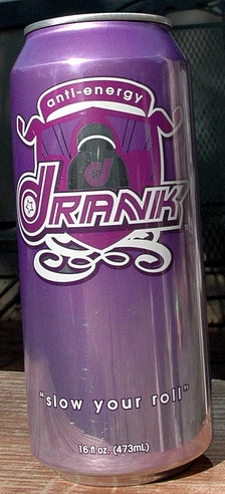 Purple Drank Anti-Energy Beverage: Slow Your Roll