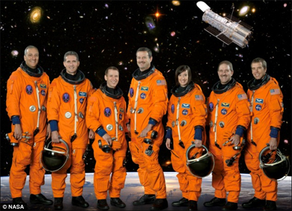 Space Shuttle Atlantis Crew 2009 (aka the Hubble Crew)