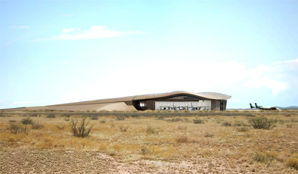 Spaceport America: Terminal Facility and Hanger in New Mexico