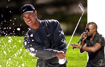 """Yo Tiger, you have a great swing and Imma let you finish, but Elin had the best drive of the night! OF THE NIGHT!"