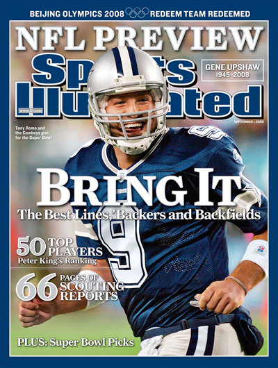 Tony Romo and the Cowboys gun for the Super Bowl