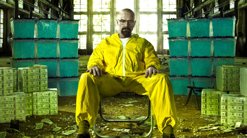 Heisenberg - The Meth Kingpin in Yellow