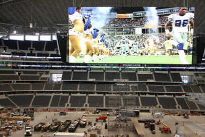 World's Largest HDTV at the new Dallas Cowboys Stadium
